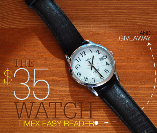 the  35 watch  timex easy reader
