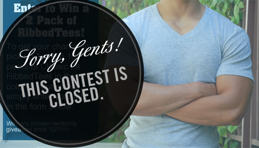 Sorry gents, contest is closed