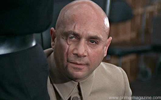 Mock up of Bardem as Dr No