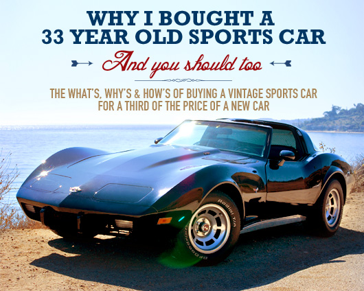 Antique Sports Cars 33 year old sports car and