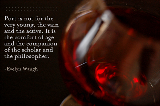 port wine quote