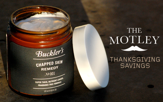 Buckler\'s chapped skin remedy