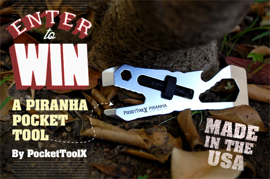Enter to Win a Piranha Tool by PocketToolX!