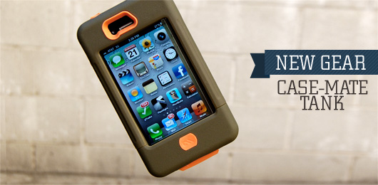 Casemate Tank for iPhone 4/4s