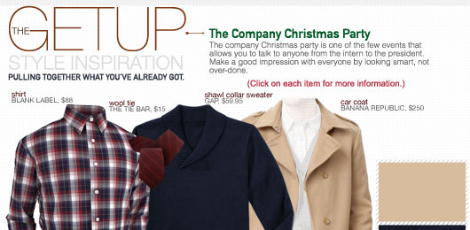 The Getup: The Company Christmas Party