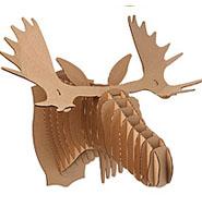 Cardboard moose