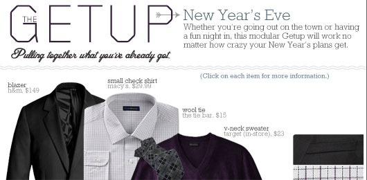 The Getup: New Year's Eve
