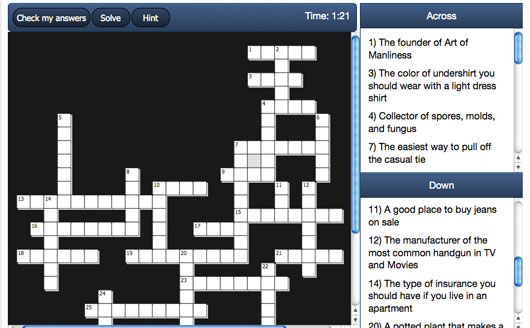 The Primer Crossword – 1/12