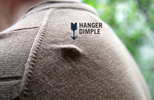 sweater hanger dimple