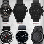 9 Beautiful Black on Black Watches