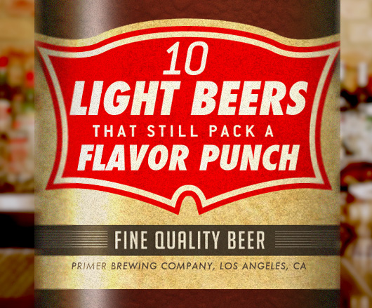 10 Light Beers That Still Pack a Flavor Punch