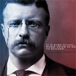 Wednesday Wallpaper: Failure vs Success by Teddy Roosevelt