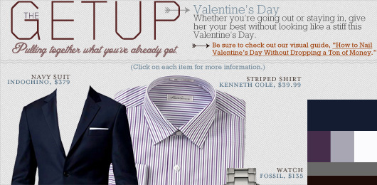 The Getup: Valentines Day