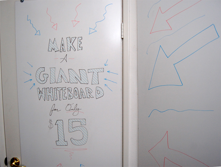 Make A Giant Whiteboard For Only 15 Primer