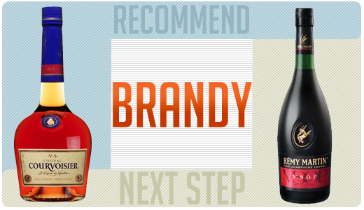 Brandy recommend and next step