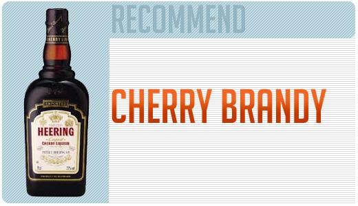 Cherry brandy bottle options