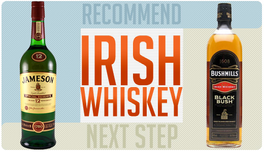 Irish whiskey recommend and next step