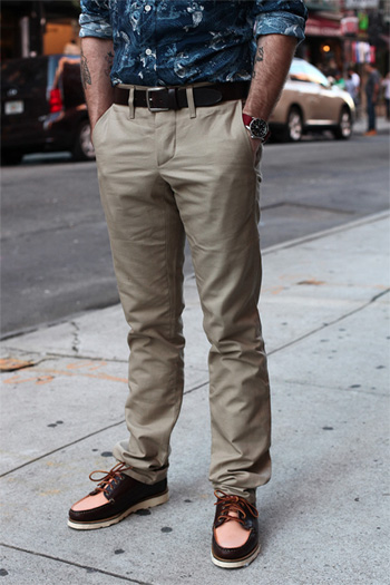 casual chino pant fit