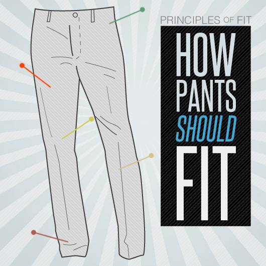 How Pants Should Fit - The Principles of Fit | Primer