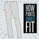 How Pants Should Fit – The Principles of Fit