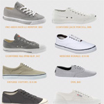 Spring Essentials: Canvas Shoes with 10 Picks