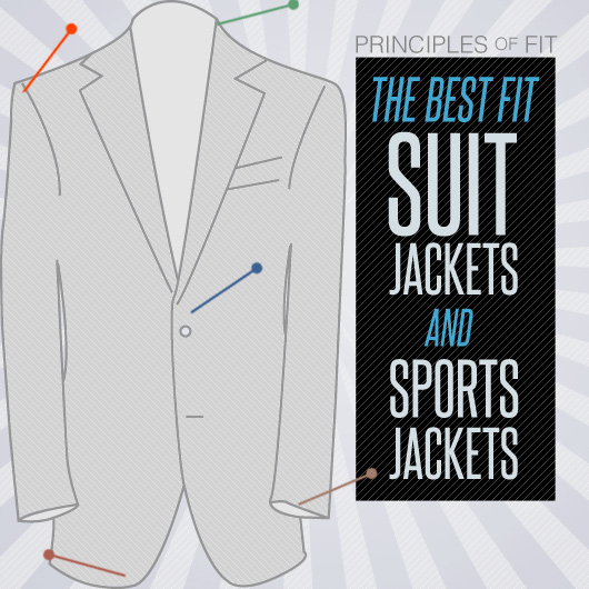 How Should A Suit Jacket Fit: Suit and Sport Jacket