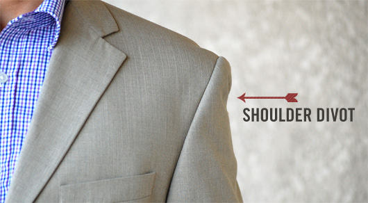 photo credit primermagazine.com How should my suit jacket fit? Avoid shoulder divots.