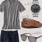 The Getup: T-shirt & Shorts Kind of a Guy