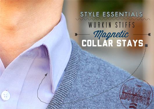 Style Essentials: Wurkin Stiffs Magnetic Collar Stays