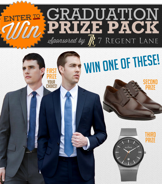 Enter to Win 1 of 3 Prizes in Our Graduation Prize Pack Sponsored by 7 Regent Lane!