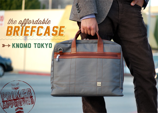 The Affordable Briefcase: Knomo Tokyo – Primer Approved