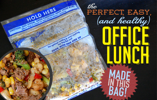 the perfect easy and healthy office lunch primer