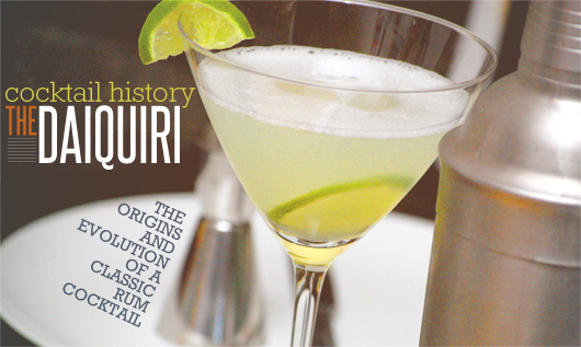 Daiquiri Cocktail History and Recipes