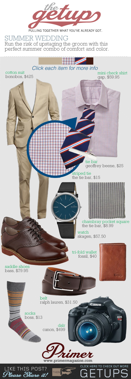what to wear to a summer wedding men