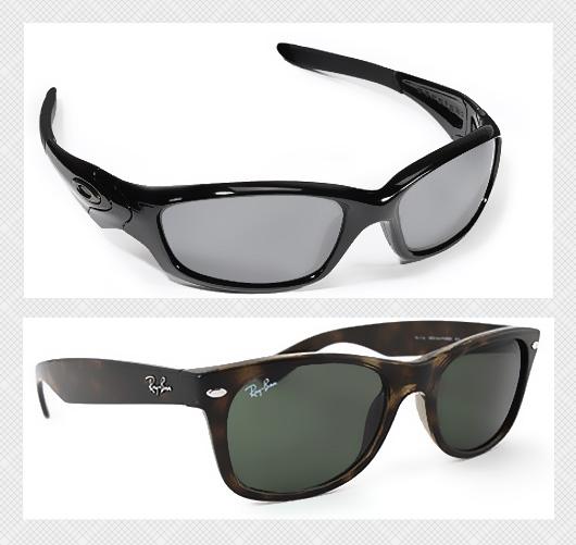 round and square sunglasses comparison