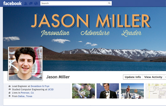 Jason Miller Facebook cover photo