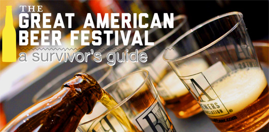 The Great American Beer Festival: A Survivor's Guide