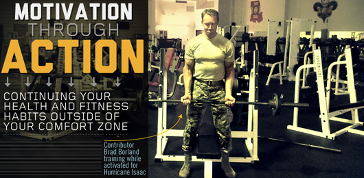 Motivation Through Action: Continuing Your Health and Fitness Habits Outside of Your Comfort Zone