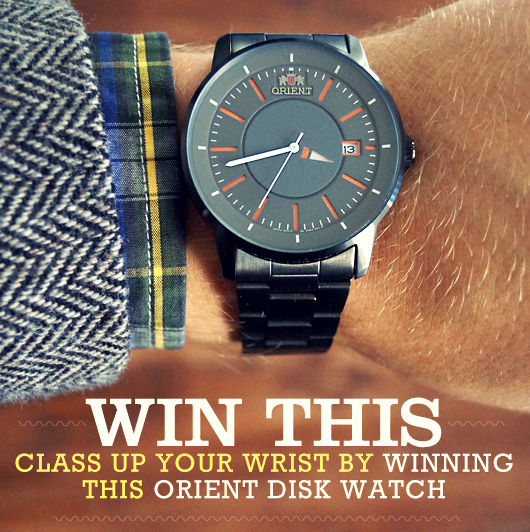 Enter to Win this Beautiful Orient Disk Watch + Primer Exclusive Discount Code