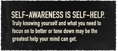 Article quote inset self-awareness is self-help