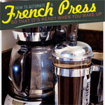 How to Automate a French Press So That It's Ready When You Wake Up