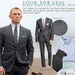 Look for Less: James Bond's Suit from Skyfall
