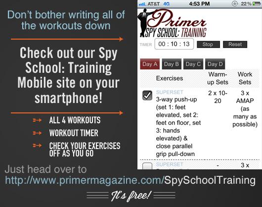 Primer training site ad