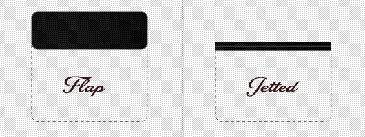 Tuxedo pocket options