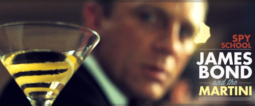 james bond martini