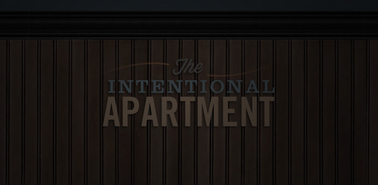 The Intentional Apartment: The Simple Bedroom