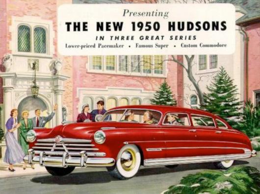 1950s car ad