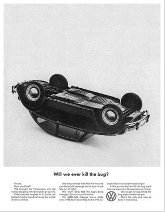 What a 60 Year Old Volkswagen Advertisement Can Teach ...