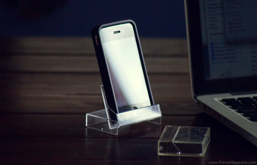 free cell phone stand hack
