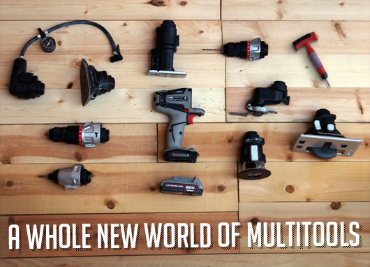 A Whole New World of Multitools